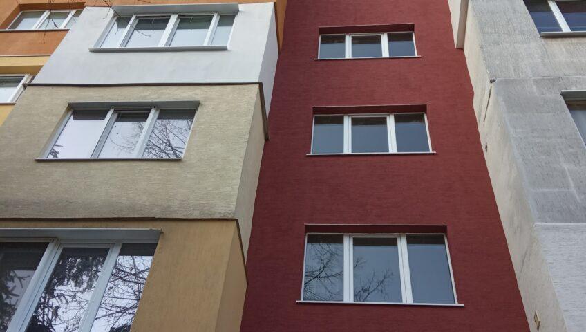 Toploizolacia na vhod s fasaden stiropor i polimerna mazilka