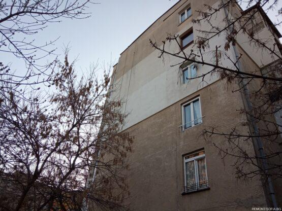 Toploizolacia na vanshen apartament s fasaden stiropor i draskana mazilka