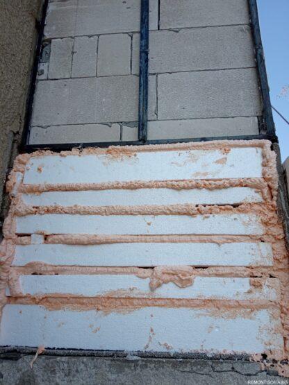 Toploizolacia na balkon s fasaden stiropor