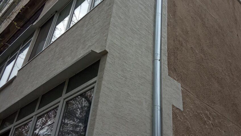 Toploizolacia na balkon s fasaden stiropor i vlachena mazilka