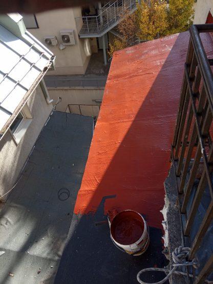 remont na pokriv s techna hidroizolacia izomax