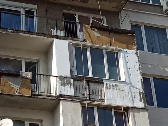 toploizolacia na apartament s fasaden stiropor i silikonova mazilka
