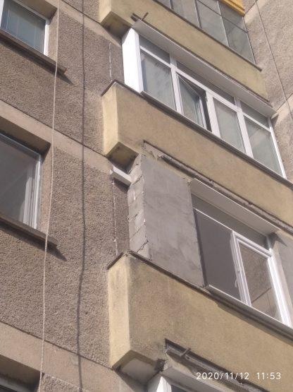 Toploizolacia na balkon ot alpinisti