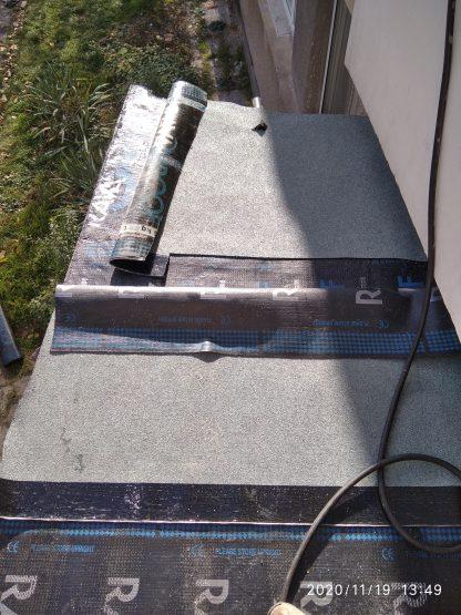 hidroizolacia na kozirka na vhod